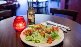 cezar s krevetkami salat na novyj god 2016