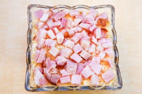 salat s konservirovannoj fasolju i shampinjonami 7