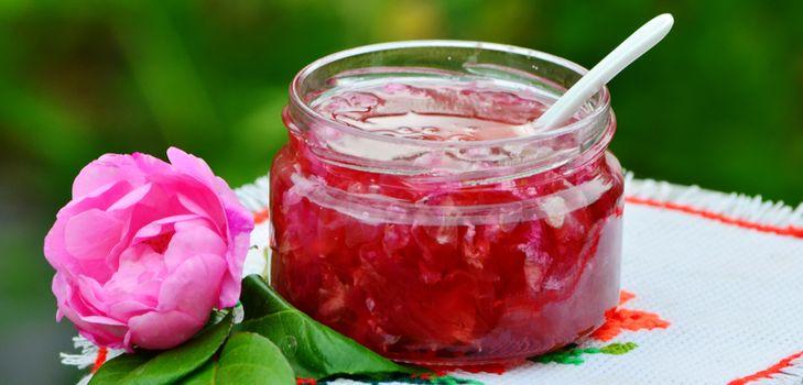 как использовать розу в кулинарии