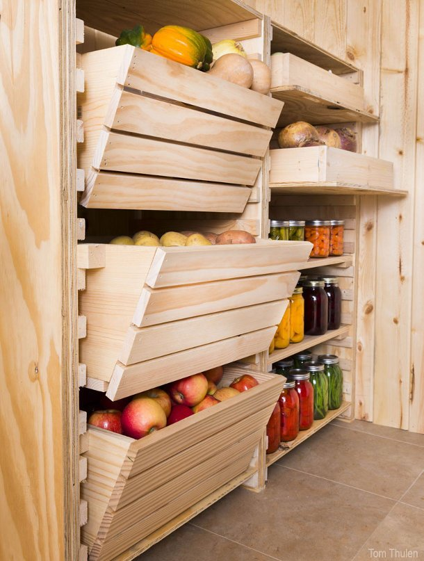 хранение картошки в гараже без погреба