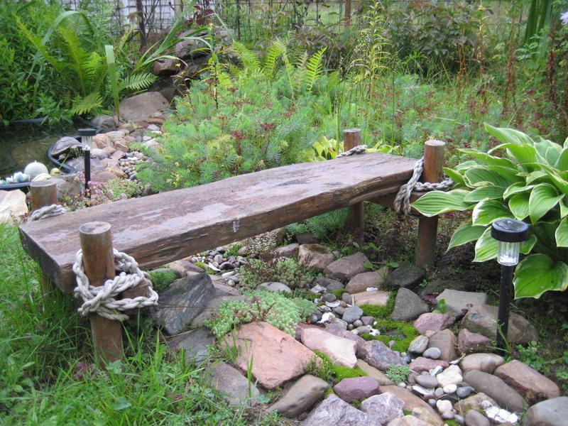 Декоративные мостики своими руками для сада 432