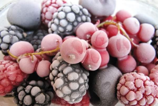заморозка овощей, фруктов в домашних условиях